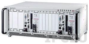 """cPCIS-2642R 19"""" Корпус 4U CompactPCI для двух систем 3U CompactPCI с двумя 6-слотовыми объединительными платами cBP-3206R 32-бит и двумя источниками питания cPS-H325/AC 250Вт, Rear I/O"""