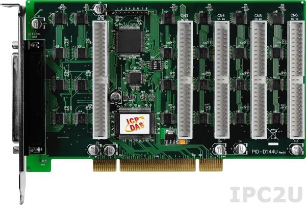 PIO-D144U PCI адаптер дискретного ввода-вывода 144 канала TTL