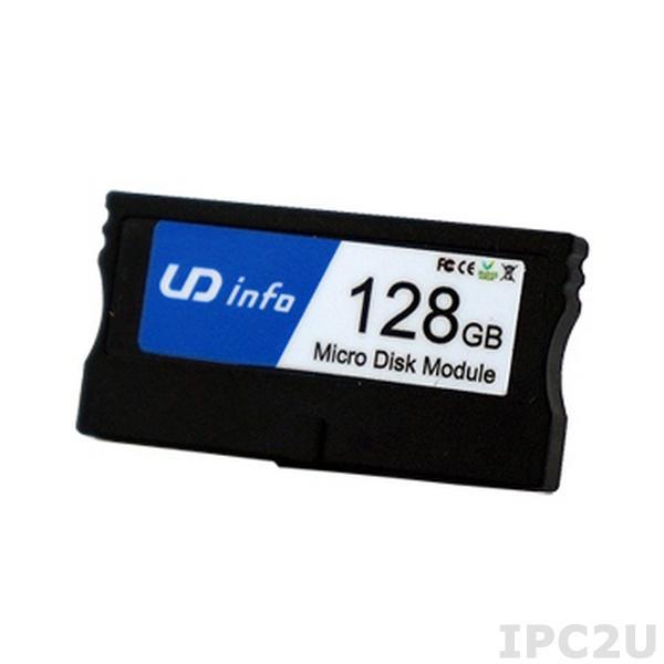 MDM-0VSI004GB-IFP DiskOnModule UD INFO 4Гб с 40-контактным IDE разъемом, вертикальный, расширенный температурный диапазон -40...+85C