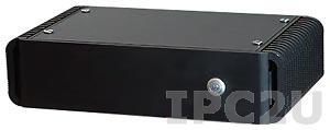 """TW2981S-00C Компактный компьютер Intel Atom D525 1.8 ГГц, VGA, 3+4(PoE) GLAN, 4xUSB, 1xRS232/422/485, 2xSATA, CompactFlash Socket, отсек для накопителя 2.5"""", питание 48В DC, внешний источник питания 48В"""