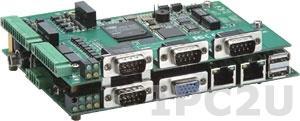 EM-2260-CE Development Kit Универсальный встраиваемый RISC-модуль EM-2260 со встроенными разъемами RJ-45 и DB9 male