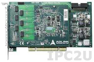 DAQ-2208 Плата ввода-вывода PCI, 96SE/48DI каналов AI 12 бит 3 МГц, 24 канала DIO TTL