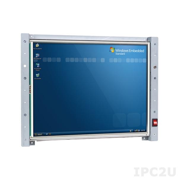 """VOX-150-TS Панельный компьютер с 15"""" TFT LCD с сенсорным экраном, процессор Vortex86MX 1ГГц, 512Мб SDRAM, LAN, COM, Audio, USB, IDE 44контакта, внешний адаптер питания 47Вт"""