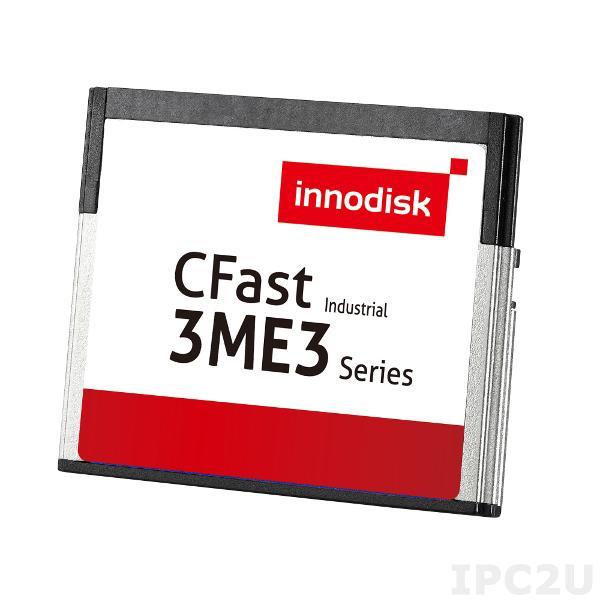 DECFA-08GD09BC1SC Карта флеш-памяти 8Гб CFast 3ME3, SATA III, MLC, чтение/запись 100/20 Мб/с, 0...+70С