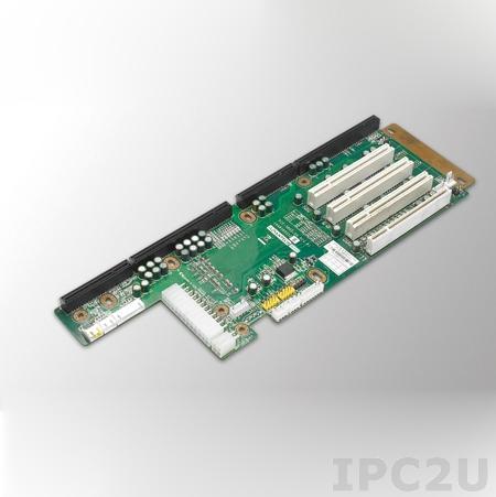 PCE-5B05-04A1E Объединительная плата PICMG 1.3, 5 слотов, 1xPICMG 1.3, 4xPCI