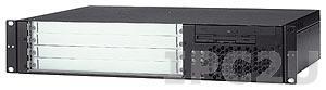 """cPCIS-6230R/SDVD 19"""" 2U CompactPCI корпус для 6U процессорной платы, 3-слотовая объединительная плата cBP-6103 32-бит, Rear I/O, источник питания 250 Вт АТХ, Slim Type SATA DVD без FDD"""
