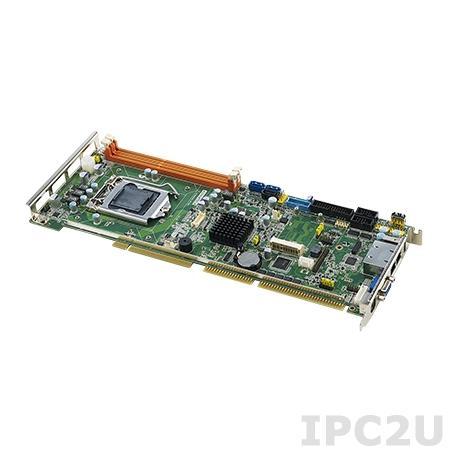 PCA-6028VG-00A1E Процессорная плата, разъем LGA1150 для Intel Core i7/i5/i3/Pentium, DDR3, VGA, 1xGB LAN, 2xCOM, 2xUSB 3.0, 7xUSB 2.0, GPIO, 1 x SATA2.0, 2 x SATA3.0, 1 x mSATA