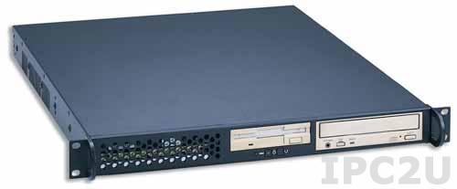 "GHI-105DX 19"" корпус 1U, ATX, отсеки 2x5.25""/1x3.5"", без источника питания"