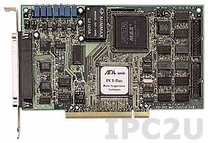 PCI-9112A Плата ввода-вывода PCI, 16SE/8D каналов AI 12 бит, 2 канал AO 12 бит, 16 каналов DI, 16 каналов DO, 1-канальный таймер/счетчик