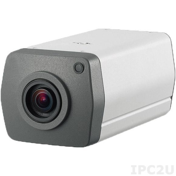 NCb-301 Камера 3MP@30fps, 1080@60fps, H.264/ M-JPEG, система P-Iris, моторизированный объектив 3-10mm F1.4, 100дБ WDR, Micro SD слот, PoE+, рабочая температура 0...60 C, 12VDC/24VAC/PoE 48V max