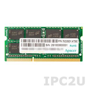 78.C2GCZ.4030C Модуль оперативной памяти 8Гб DDR3L SODIMM 1600ГГц, 1.35В, без ECC, 512x8, чип Samsung