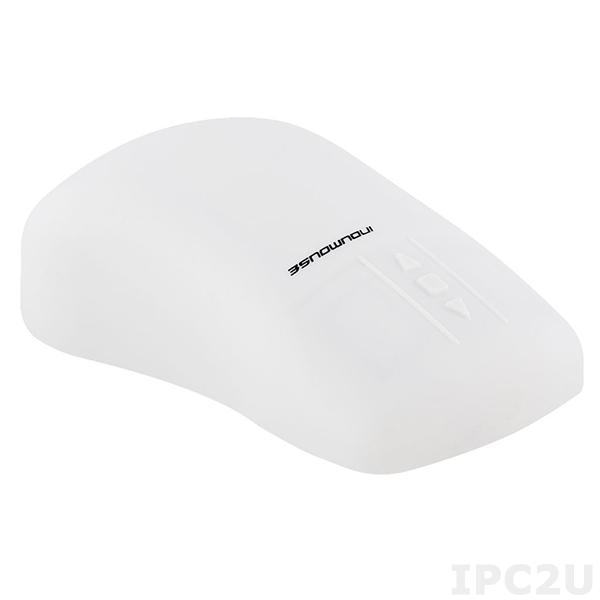 TKH-MOUSE-SCROLL-IP68-G-O-PS/2 Промышленная оптическая мышь, IP68, интерфейс PS/2, цвет серый