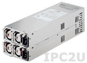 ZIPPY R2W-6460P 2U дублированный источник питания ATX переменного тока 460+460Вт, EPS12V, с PFC