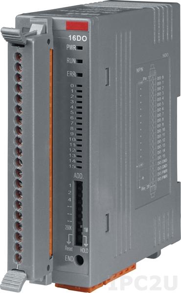FR-2057TW Модуль вывода, 16-каналов изолированного дискретного вывода, Источник, клеммная колодка, FRnet