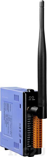 ZT-2026 Модуль беспроводной связи, 4 канала аналогового ввода, 2 канала аналогового вывода, частота ISM 2.4ГГц, IEEE802.15.4/ ZigBee 2.405ГГц/ 2.48ГГц, 11dBm/12.59мВт (FCC) (макс. 19 dBm/79.43мВт)