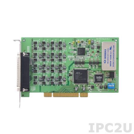 PCI-1724U-AE Плата вывода Universal PCI, 32AO