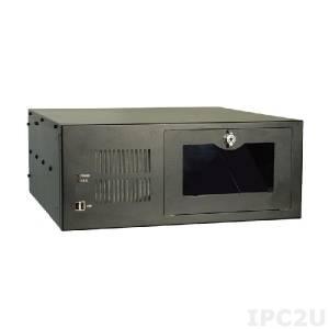"""RACK-360GB-R22/ACE-935AL 19"""" корпус 4U, Для 14 слотовой объединительной платы, USB, Источник питания ACE-935AL-RS 300Вт, черный"""