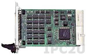 cPCI-7249R Плата ввода-вывода 3U cPCI, 24 каналов DI, 24 каналов DO, TTL, возможность подключения сигналов с тыльной стороны