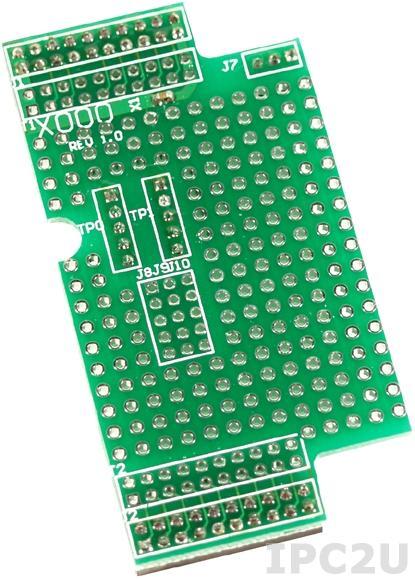 X000 Макетный модуль для I-7188XA/XC, 64 x 38 мм