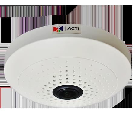 B54 5 МП купольная IP-камера, рыбий глаз f1.19мм/F2.0, H.264, (2592 x 1944)/15 кадр/сек, день/ночь, WDR, DNR, Аудио, Micro SDHC/SDXC, PoE/DC12В, DI/DO, -10C...+50C