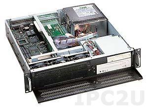 "GHI-200 19"" корпус 2U, 6 слотов, отсеки 1x5.25""Slim/1x3.5""/1x3.5"" HDD, без источника питания"