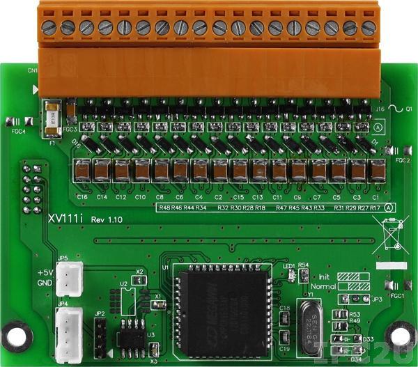 XV111 Плата дискретного вывода, 16 каналов DO приемник для VPD-132/133, ModBus RTU,RoHS