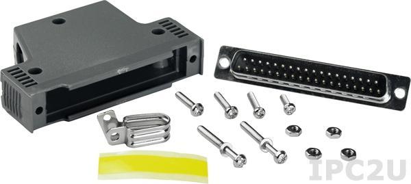 CA-4002 Разъем кабельный DB-37, пластик, до 30 В