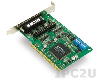CP-134U-T 4-портовая плата RS-422/485 для шины Universal PCI, без кабеля, -40...+85с