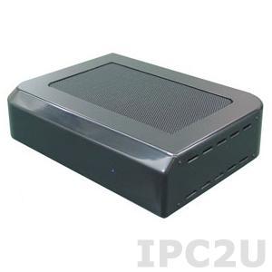 UN2621-00E Компактный компьютер VIA Nano 1Ггц, 1xLAN Realtek, VGA, HDMI, Line Out, Mic IN, 6xUSB 2.0, 2xPCIe mini