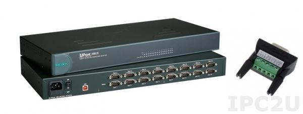 UPort 1650-16 16-портовый конвертер USB в RS-232/422/485