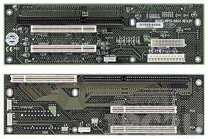 HPCI-D6S4 2U двухсторонняя объединительная плата 1xPICMG, 1xISA, 4xPCI слотов
