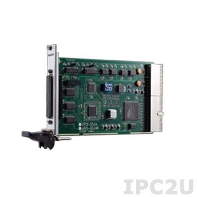cPCI-3534R CompactPCI адаптер 3xRS-232, 1xRS-422/485, 115.2кбод, с разъемами ввода/вывода на задней части, с гальванической изоляцией