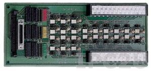 DIN-24P-01 Выносная плата 24 дискретных входов с изоляцией, монтаж на DIN рейку, без кабеля, до 24В