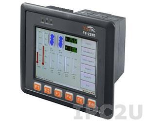 VP-25W1-MicroTraceMode256 Промышленный панельный контроллер ViewPAC, 5.7' TFT LCD с сенсорным экраном, Intel PXA 270 520МГц, 128 Мб SDRAM, 96 Мб Flash, Ethernet, Win CE 5.0, Micro TM6 на 255 каналов