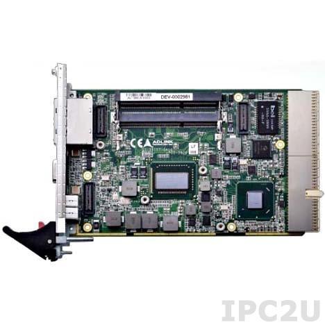 cPCI-3970P/655L/M4G Процессорная плата 3U/2 Slot CompactPCI Blade с Intel i7-2655LE, 2x2Гб DDR3-1066/1333, 2xGLAN, VGA, 4xUSB, Audio, COM, SATA, CF, PS/2, PMC/XMC