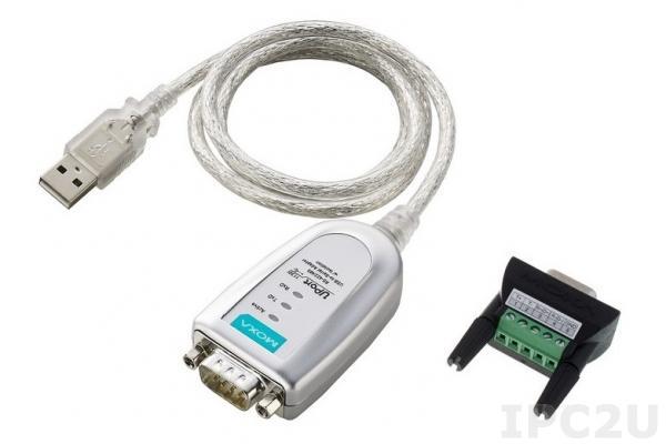 UPort 1130I 1-портовый конвертер USB в RS-422/485 с изоляцией 2 кВ