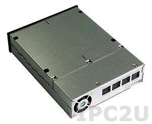 """GHK-425-SAS Корзина для установки дисководов 4x2.5"""" SAS HDD с поддержкой горячей замены в 5.25"""""""
