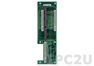 GHP-B4PS1 2U двухсторонняя объединительная плата 1xPICMG, 4xPCI слотов, AT