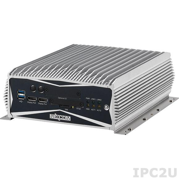 NISE-3600E-500G-i3-4G-PBMW7OPC Встраиваемый компьютер с Intel Core i3-3120ME, 4Гб DDR3, 2xDisplay Port, DVI-D, VGA, 2xLAN, 4xCOM, 500Гб HDD, Profibus Master, 9-30В DC, Windows Embedded Standard 7, OPC сервер