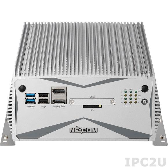 "NISE-3640E2 Встраиваемый компьютер с Intel Core i7-3517UE 1.7ГГц, 4Гб DDR3, VGA, DVI-D, 2xDisplay Port, 4xGbE LAN, 4xUSB, 6xCOM, Audio, CFast слот, отсек для 2.5"" SATA HDD, 2xMini-PCIe, 2xPCIe x4, 24В DC"
