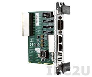 cPCI-R3920T Дополнительный модуль для плат серии cPCI-3920 2xGB LAN, 2xUSB, 2xCOM, 1xSATA 3,80mm