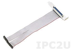 ACL-10337 Кабель-переходник с 2 разъемов IDC-20 на DB-37, ПВХ, до 20В