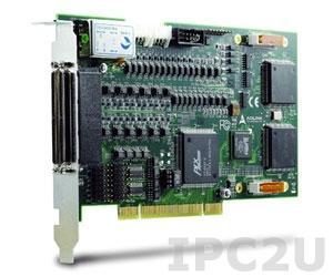 PCI-8158 PCI адаптер восьмикоординатного управления сервоприводом и шаговыми двигателями
