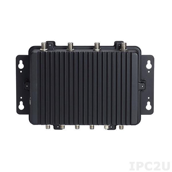 """eBOX800-511-FL-DC-7300U Защищенный встраиваемый компьютер с IP67, Intel Core i5-7300U, до 16Гб DDR4, VGA (M12), 1xGbE LAN (M12), 2xCOM (M12), 2xUSB 2.0 (M12), отсек 1x2.5"""" SATA HDD, mSATA, 2xMini-PCIe, SIM слот, 9...36В DC, -30...+60C"""