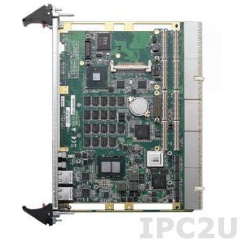 cPCI-6510V-VS/610/M4G Процессорная плата 6U CompactPCI Core i7 610E 2.53ГГц с 4Гб RAM, Gb LAN, USB, RS-232, SATA, CF, DVI, single PMC, для ViaSat