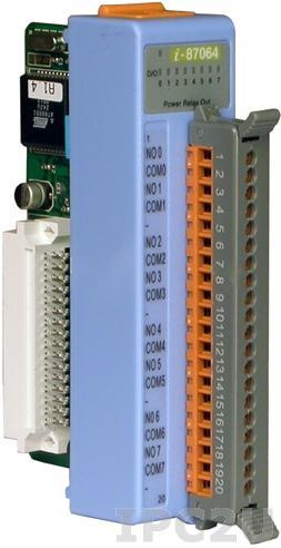 I-87064 8-канальный модуль силового релейного дискретного вывода