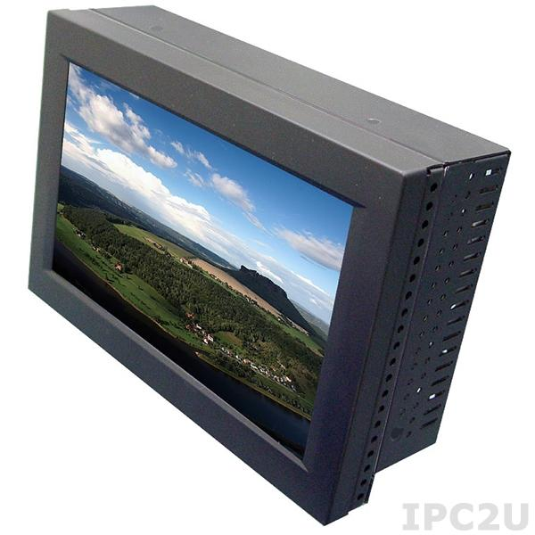 """STG2250 Безвентиляторный панельный компьютер с 7"""" LCD LED подсветка, резистивный сенсорный экран, 2I385C-I12, Intel Atom E3815 1.46ГГц, 2Гб DDR3L, 1x2.5"""" HDD, CF, 1x COM, 2x LAN, 2x USB, VGA, 2x Mini PCIe (1x mSATA half size), питание 12В DC"""