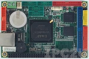 VDX-6315RD 2,5'' одноплатный компьютер Vortex86DX 800МГц с 256Мб RAM, LAN, 4xCOM, 2xUSB, 2хGPIO, рабочая тмпература -20..70 С