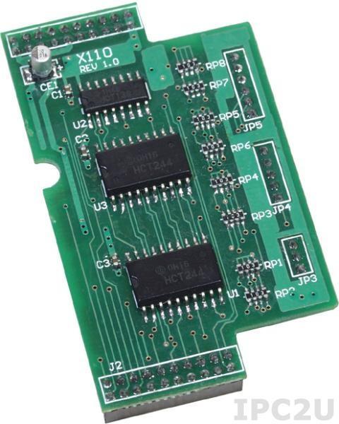 X110 14-канальный модуль дискретного ввода для I-7188XB/EX