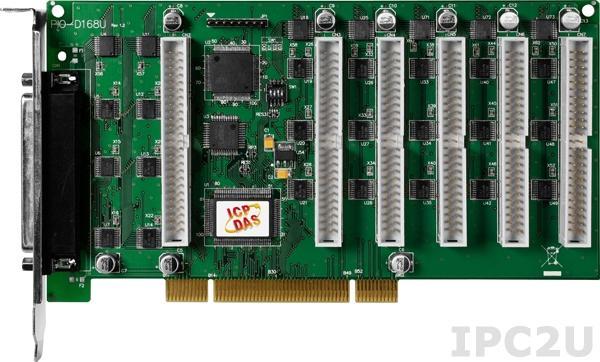 PIO-D168U PCI адаптер дискретного ввода-вывода, 168 универсальных канала дискретного ввода-вывода, уровни TTL, внешний разъем SCSI-50